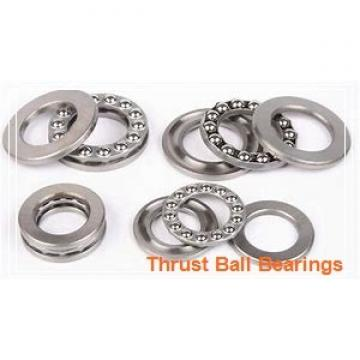 60 mm x 130 mm x 31 mm  60 mm x 130 mm x 31 mm  SKF NJ 312 ECPH thrust ball bearings