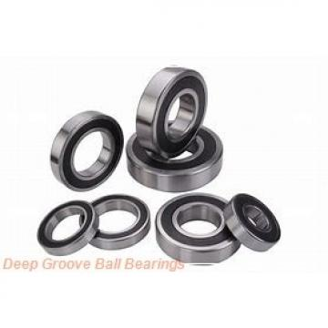 9,525 mm x 22,225 mm x 7,14248 mm  9,525 mm x 22,225 mm x 7,14248 mm  FBJ 1604ZZ deep groove ball bearings