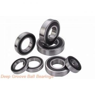 25,4 mm x 80 mm x 36,52 mm  25,4 mm x 80 mm x 36,52 mm  PFI W208PPB6 deep groove ball bearings