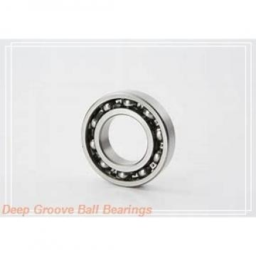 6 mm x 12 mm x 4 mm  6 mm x 12 mm x 4 mm  ISO MR126-2RS deep groove ball bearings