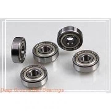 25 mm x 52 mm x 15 mm  25 mm x 52 mm x 15 mm  SKF 6205-2Z/VA201 deep groove ball bearings