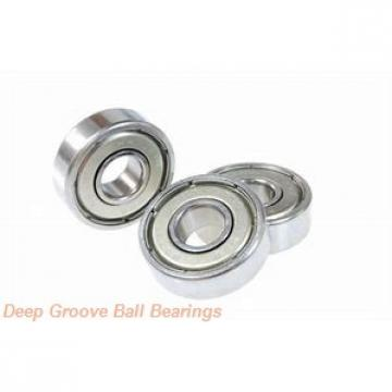 120 mm x 190 mm x 32 mm  120 mm x 190 mm x 32 mm  Timken 124WI deep groove ball bearings