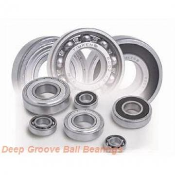 90 mm x 140 mm x 24 mm  90 mm x 140 mm x 24 mm  NACHI 6018ZZ deep groove ball bearings